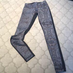 Lululemon long legging  size 4.  Worn once